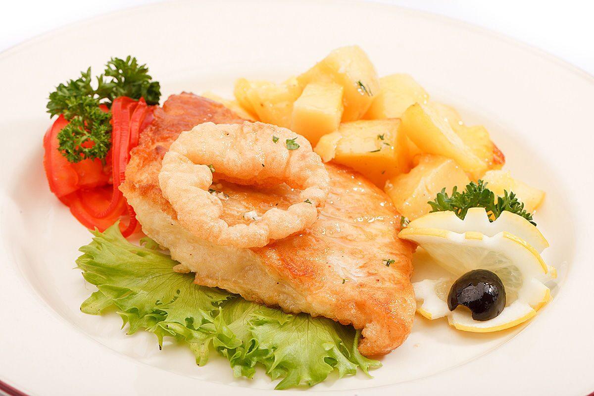 Горячее блюдо из рыбы